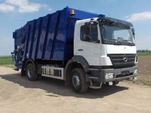 hulladékgyüjtő jármű