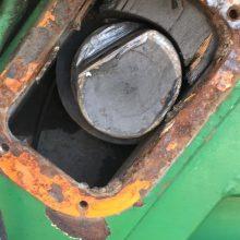 kommunális jármű meghibásodott alkatrész kép
